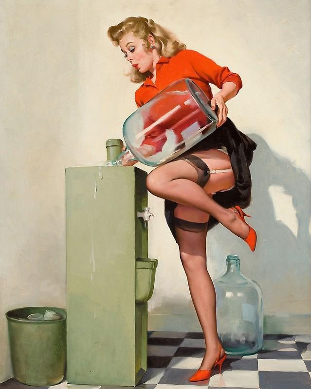 Сантехник и домохозяйка смешные картинки, мне