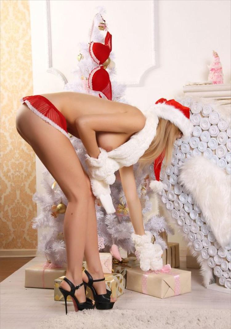 Санта жарит снегурочку, мужик умолял о сексе ванная