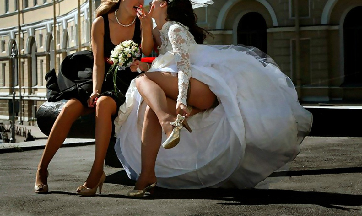 Попки новых невест